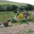 View from Swallows Byre garden